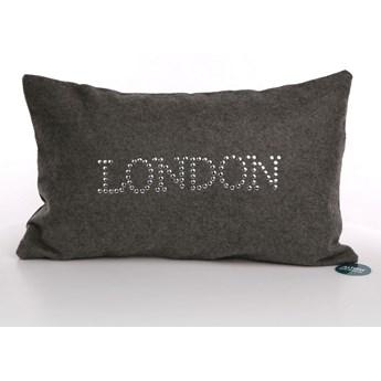 Poszewka na poduszkę bawełniana dekoracyjna Altom Design Miasta dekoracja London 30 x 50 cm