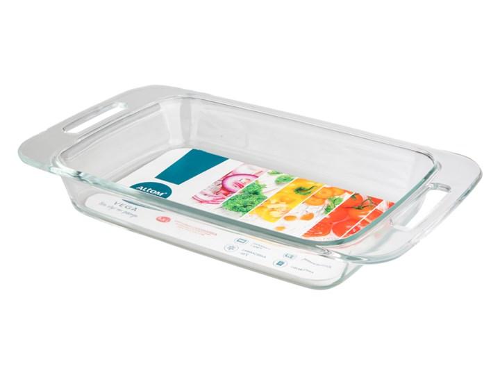 Brytfanna szklana z uchwytami / naczynie żaroodporne Altom Design Vega 2,5 l Kategoria Naczynia do zapiekania Naczynie do zapiekania Kolor Przezroczysty