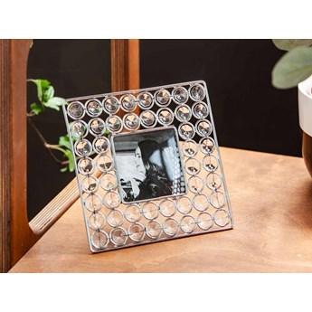 Ramka na zdjęcie z kryształkami kwadratowa Altom Design 16,5 cm