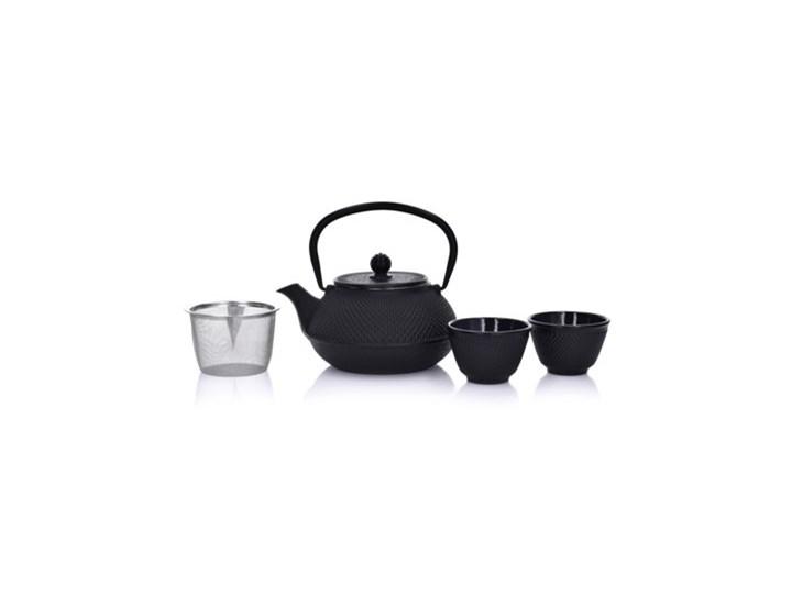 Zestaw do parzenia herbaty DUKA MARIKO 800 ml czarny żeliwo Kolor Szary
