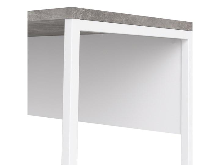 Biurko narożne Function 118 biały/beton Szerokość 145 cm Styl Nowoczesny Biurko z nadstawką Głębokość 81 cm Kategoria Biurka