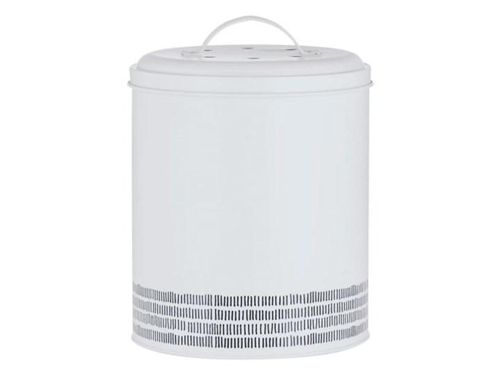 kompostownik stalowy 2.5l biały MONOCHROME TYPHOON