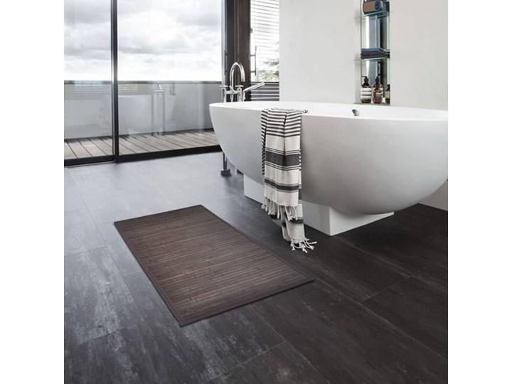 VidaXL Bambusowe maty łazienkowe, 4 szt., 60 x 90 cm, ciemnobrązowe