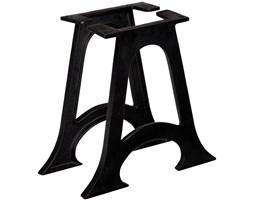 VidaXL Nogi do stolika kawowego, 2 szt., w kształcie litery A, żeliwo