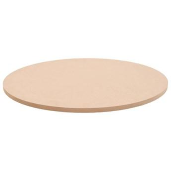 VidaXL Blat stołu, okrągły, MDF, 700 x 18 mm