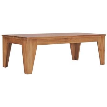 VidaXL Stolik kawowy, 120 x 60 x 40 cm, lite drewno tekowe