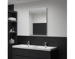 VidaXL Ścienne lustro łazienkowe z LED, 60 x 80 cm
