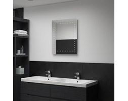 VidaXL Ścienne lustro łazienkowe z LED, 50 x 60 cm