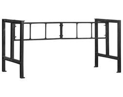 VidaXL Nogi do stołu jadalnianego,150 x 68 x 73 cm, żeliwo