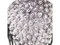 VidaXL Głowa Buddy dekoracyjna na ścianę, aluminium, srebrna Kolor Szary Metal Kolor Srebrny