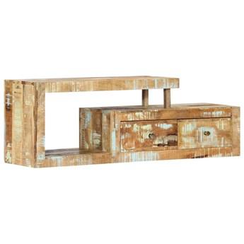 VidaXL Szafka pod TV, 120 x 30 x 40 cm, lite drewno odzyskane