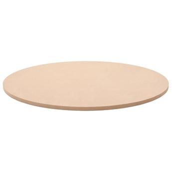 VidaXL Blat stołu, okrągły, MDF, 800 x 18 mm