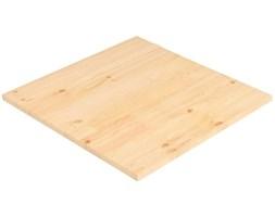 VidaXL Blat stołu, naturalna sosna, kwadratowy, 70x70x2,5 cm