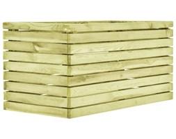 VidaXL Donica, 100x50x50 cm, impregnowane drewno sosnowe