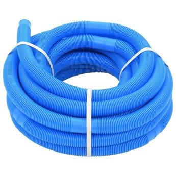 VidaXL Wąż do basenu, niebieski, 38 mm, 15 m