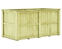 VidaXL Donica ogrodowa, 196x100x100 cm, impregnowane drewno sosnowe