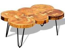 stolik z pnia drzewa pomysły, inspiracje z homebook