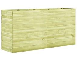 VidaXL Donica ogrodowa, 200x50x97 cm, impregnowane drewno sosnowe
