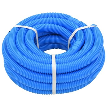 VidaXL Wąż do basenu, niebieski, 38 mm, 12 m