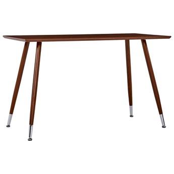 VidaXL Stół do jadalni, brązowy, 120x60x74 cm, MDF