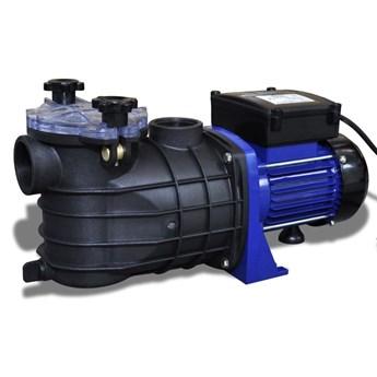 VidaXL Elektryczna pompa basenowa, 500 W, niebieska