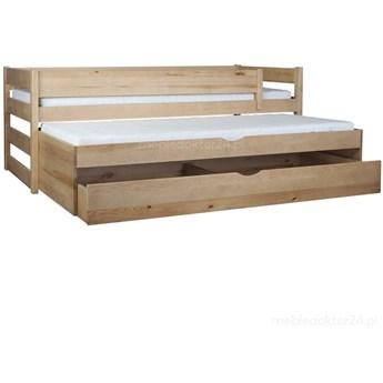Łóżko Tomi 90x200 podwójne spanie z szufladą