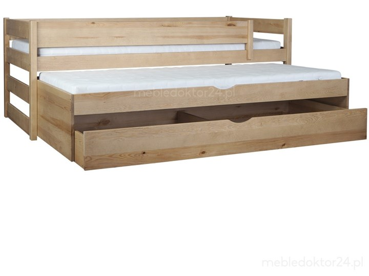 Łóżko Tomi 90x200 podwójne spanie z szufladą Liczba miejsc Dwuosobowe