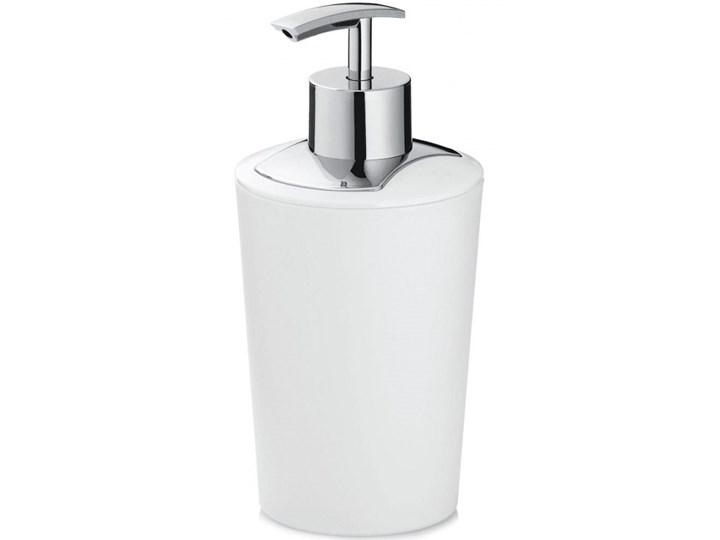 Dozownik do mydła 350ml Kela Marta biały kod: KE-24192 Tworzywo sztuczne Dozowniki Kategoria Mydelniczki i dozowniki