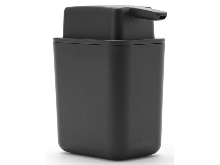 Dozownik mydła w płynie 250ml SinkSide ciemnoszary 302503 kod: 302503 Tworzywo sztuczne Dozowniki Kategoria Mydelniczki i dozowniki