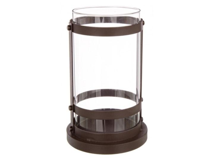 ŚWIECZNIK CYLINDER Żelazo Szkło Metal Kategoria Świeczniki i świece