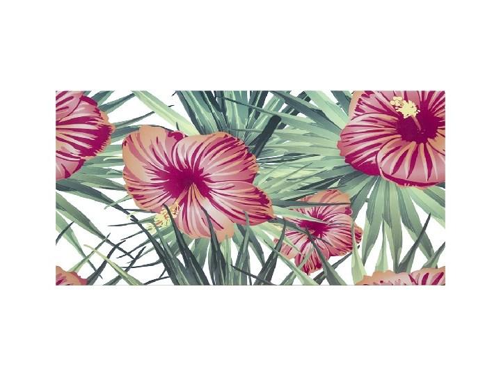 Dekor Flower Power Ceramstic 60 x 30 cm Wzór Roślinny Płytka dekoracyjna Płytki łazienkowe Płytki ścienne Prostokąt 30x60 cm Kategoria Płytki