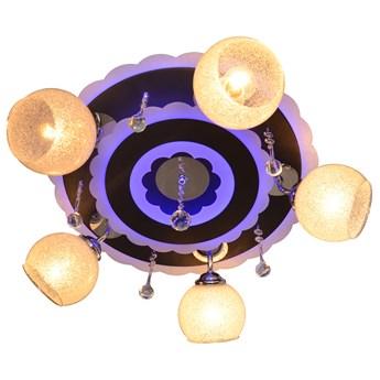 Plafon LED RGB + pilot ARONA P-8512/5 BK+CR