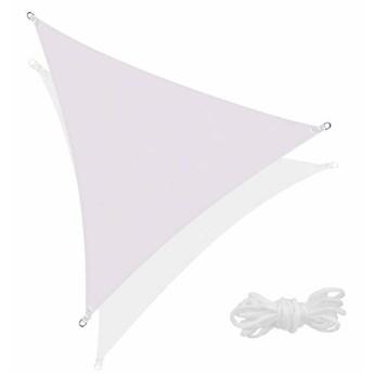 Żagiel przeciwsłoneczny trójkątny 5x5x5m popielaty