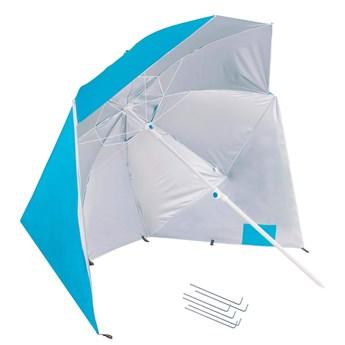 Parasol plażowy namiot parasol ogrodowy niebieski