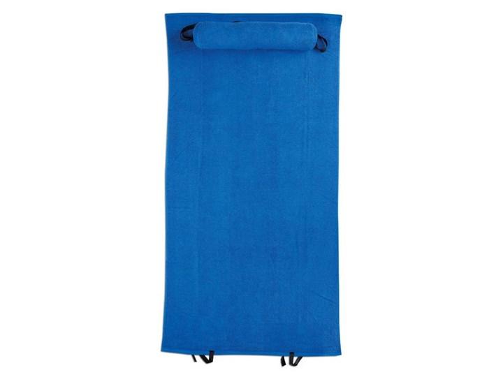 Ręcznik plażowy z poduszką BOLINAS UPOMINKARNIA Niebieski