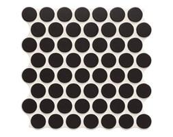 Gres szkliwiony Circle 31 x 31 cm black 0,86 m2