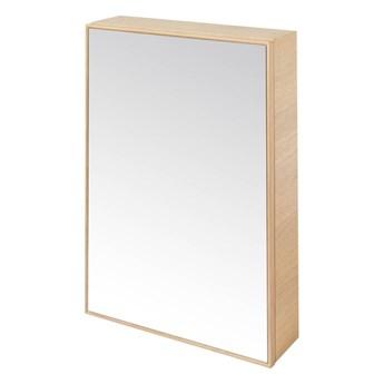 Szafka z lustrem GoodHome Avela 50 cm drewno