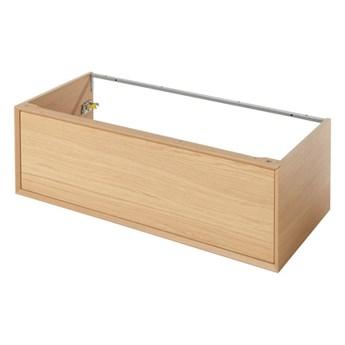 Szafka z szufladą pod umywalkę GoodHome Avela 100 cm drewno