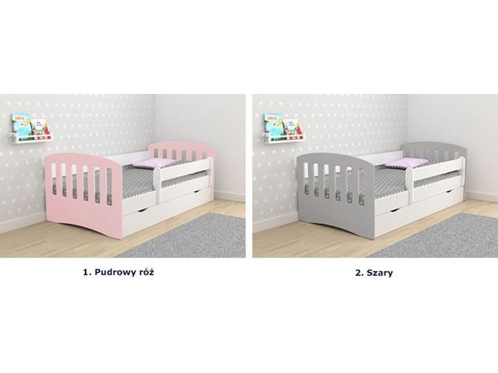 Łóżko dziecięce z barierką Pinokio 2X mix 80x160 - szare Kategoria Łóżka dla dzieci Tradycyjne Rozmiar materaca 80x160 cm