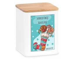Tradycyjne Pierniki z Torunia w Personalizowanym Pudełku Słodkie Ś