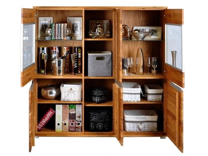 Kredens dębowy Faro Soolido Meble Pomieszczenie Salon Drewno Pomieszczenie Jadalnia
