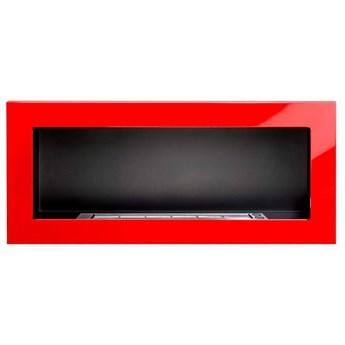 Biokominek 900x400mm Globmetal czerwony połysk kod: GMT-006
