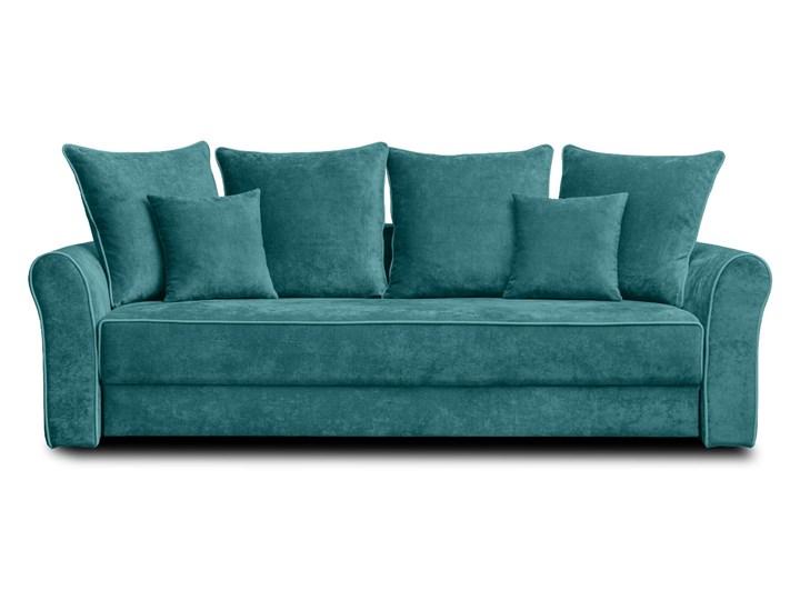 Sofa NEW YORK z funkcją spania Stała konstrukcja Boki Z bokami Kolor Szary