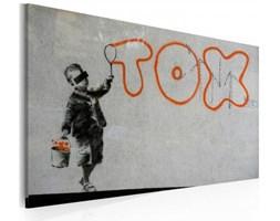 Obraz - Tapeta graffiti (Banksy)