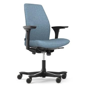 Fotel biurowy ergonomiczny Kinnarps 5000 niebieski
