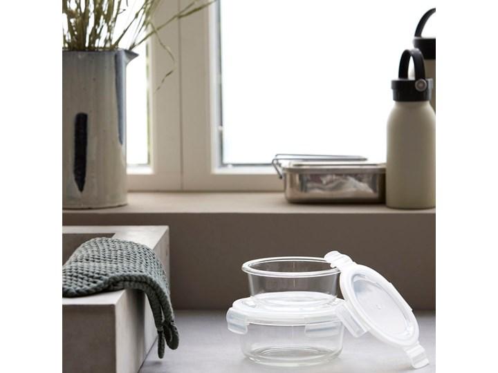 House Doctor - Zestaw pojemników Round Tworzywo sztuczne Szkło Na żywność Kategoria Pojemniki i puszki