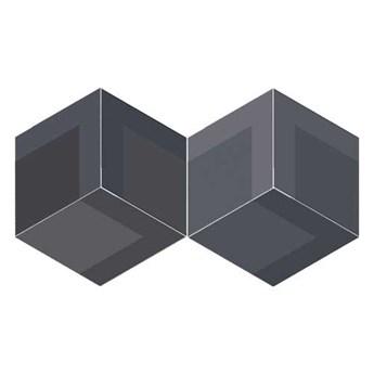 FLOW DIAMOND DECOR OLD BLACK 14x24