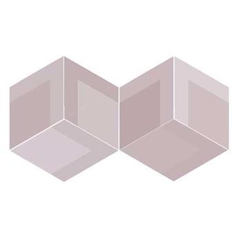 FLOW DIAMOND DECOR OLD ROSE 14x24