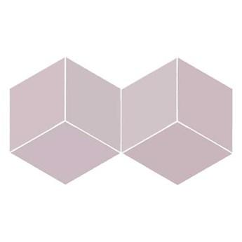 FLOW DIAMOND OLD ROSE 14x24