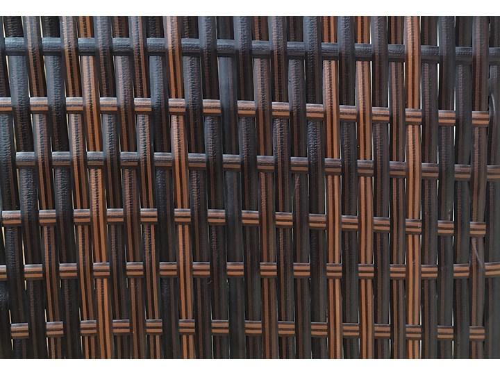 MEBLE OGRODOWE ZESTAW Z TECHNORATTANU DLA 7 OSÓB - 1090 BRĄZ - 6 CZĘŚCIOWY Stoły z krzesłami Zestawy wypoczynkowe Kategoria Zestawy mebli ogrodowych